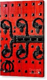 Heinz Chapel Door Detail Acrylic Print by Thomas R Fletcher