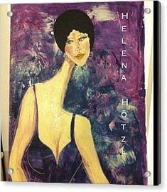 #helenahotzl #art #artist #paint Acrylic Print