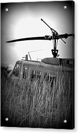 Helicopter Of War Acrylic Print