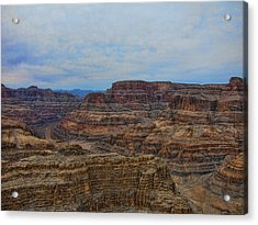 Helicopter View Of The Grand Canyon Acrylic Print by Douglas Barnard