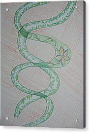 Acrylic Print featuring the painting Helix  by Sonali Gangane