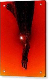 Hell Fall Acrylic Print by David Lee Thompson