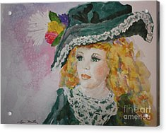 Hello Dolly Acrylic Print by Terri Maddin-Miller
