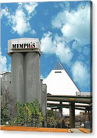 Acrylic Print featuring the photograph Hello Memphis by Lizi Beard-Ward