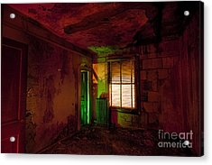 Hells Room Service Acrylic Print by Keith Kapple