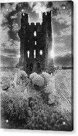 Helmsley Castle Acrylic Print by Simon Marsden