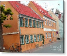 Acrylic Print featuring the painting Helsingor by Susan Fisher