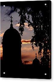Helsinki Sunset Acrylic Print by Lee Versluis