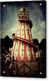 Helter Skelter Acrylic Print by Julie Williams