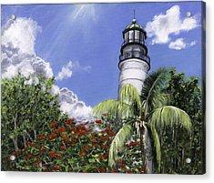 Hemmingway's View Acrylic Print by Lisa Reinhardt
