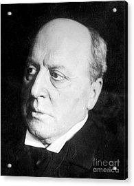 Henry James, American-born British Acrylic Print by Photo Researchers