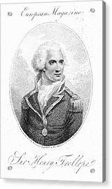 Henry Trollope (1756-1839) Acrylic Print by Granger