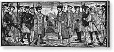 Henry Viii & Francis I Acrylic Print by Granger