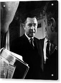 Herbert G. Klein, Appointed Acrylic Print by Everett