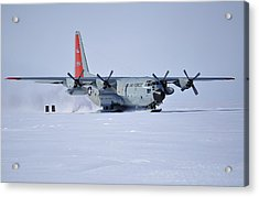 Hercules Lc130h 02 Acrylic Print by David Barringhaus