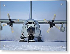 Hercules Lc130h Acrylic Print by David Barringhaus