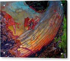 Acrylic Print featuring the digital art Here And Now by Richard Laeton