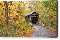 Herns Mill Covered Bridge Acrylic Print