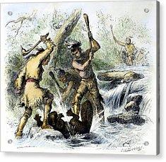 Hiawatha: Hunting Acrylic Print