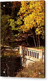 Hidden Bridge Acrylic Print
