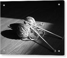 Hidden Butterfly Acrylic Print