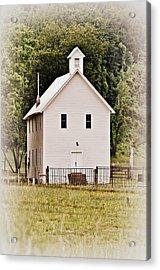 Hidden Church Acrylic Print by Marty Koch