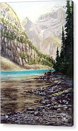 Hidden Gem In The Rockies Acrylic Print