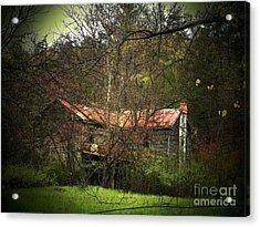 Hidden House In Spring Acrylic Print by Joyce Kimble Smith