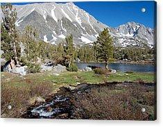 Hidden Lake Acrylic Print by Kirk Williams