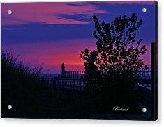 Hidden Sunset Acrylic Print