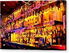Hideaway Main Bar Acrylic Print