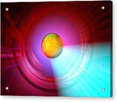 Higgs Boson Particle, Artwork Acrylic Print by Laguna Design