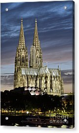 High Cathedral Of Sts. Peter And Mary In Cologne Acrylic Print