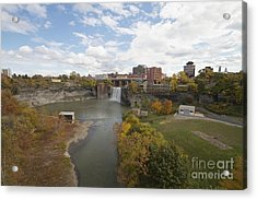 Acrylic Print featuring the photograph High Falls by William Norton