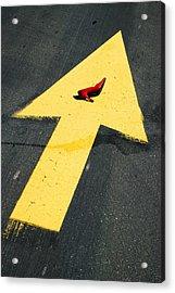 High Heel And Arrow Acrylic Print by Garry Gay
