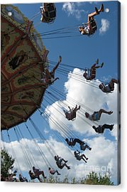 Acrylic Print featuring the photograph High In The Sky by Nancy Dole McGuigan