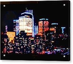 High-lights Acrylic Print by Val Oconnor