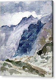 High Mountains Acrylic Print