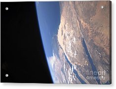 High Oblique Scene Looking Acrylic Print by Stocktrek Images