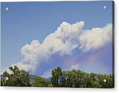 High Park Fire Larimer County Colorado  Acrylic Print