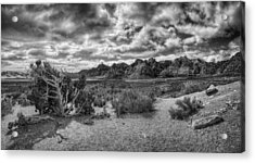 High Point Monochrome Acrylic Print by Stephen Campbell