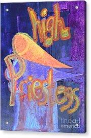High Priestess Acrylic Print