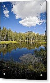High Sierras Lake Acrylic Print by Bonnie Bruno