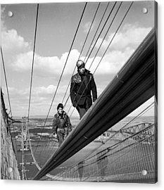 High Wire Acrylic Print by John Drysdale