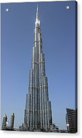 Highest Building In The World Acrylic Print by Radoslav Nedelchev