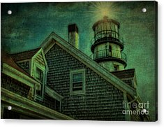 Acrylic Print featuring the photograph Highland Lighthouse by Gina Cormier