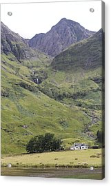 Acrylic Print featuring the photograph Highland Pass by David Grant