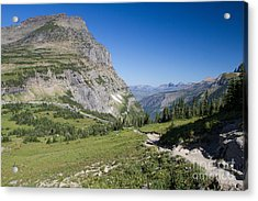 Acrylic Print featuring the photograph Highline Trail 1 by Katie LaSalle-Lowery