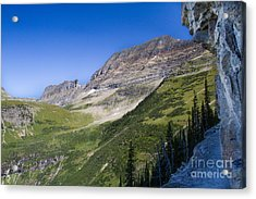 Acrylic Print featuring the photograph Highline Trail 5 by Katie LaSalle-Lowery