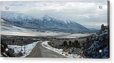 Acrylic Print featuring the photograph Highway 447 by Gary Rose